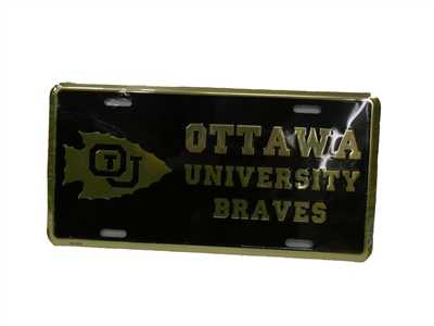 License Tag/Ou Braves