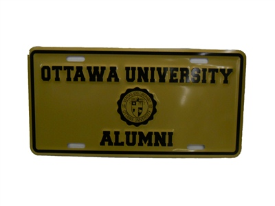 License Plate/Alumni (SKU 1004973010)