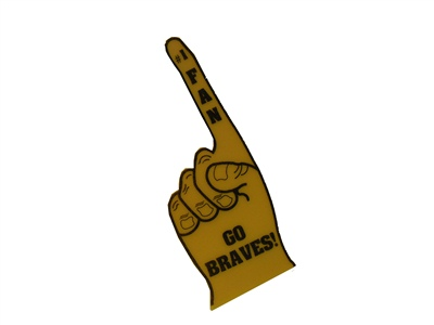 Foam Finger/Braves