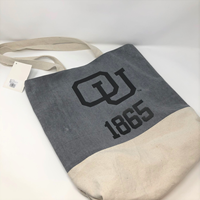 Ouks Bag Tall Canvas Tote