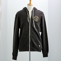 Ouks Embroidered Tri-Blend Full Zip