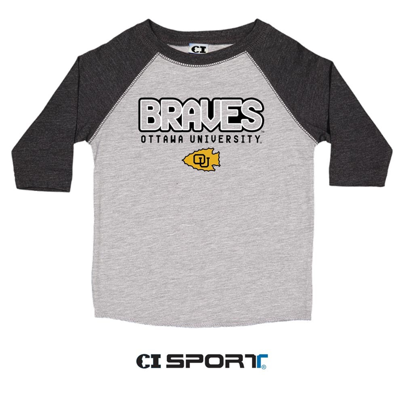 OUKS Vintage Toddler Baseball Tee (SKU 1021354462)