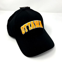 OUKS Black Ventilated Ball Cap