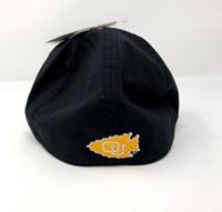 OUKS Black Ventilated Ball Cap