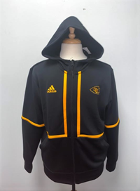 OUKS Adidas Men's Full Zip Hooded Jacket