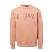 OUKS Crewneck Sweatshirt 3D Embroidery