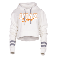 OUAZ Benchmark Cropped Hoodie