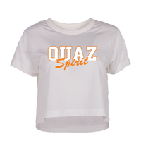 OUAZ Catman Cropped Tee