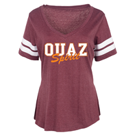 OUAZ V-Neck Catman Tee