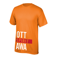 OUAZ Spirit Block Tee (Available in 2 Colors)