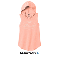 OUAZ Ladies Perfect Tri Sleeveless Canteberry Hood
